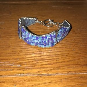 Bracelet with toggle clasp